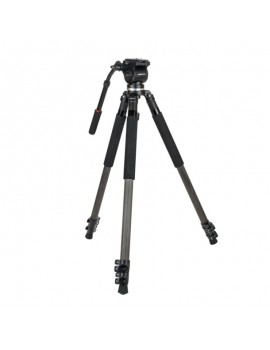Kenro Standard Video Tripod Kit  Carbon Fibre
