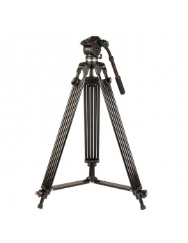 Kenro Twin Tube Video Tripod Kit  Aluminium