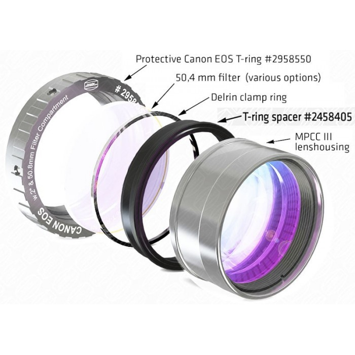 Baader M48 spacer ring for M48/MPCC III / Protective EOS T-Ring