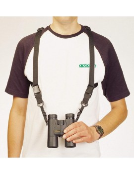 Opticron 25mm Nylon & Leather Binocular Harness with Quick Release System