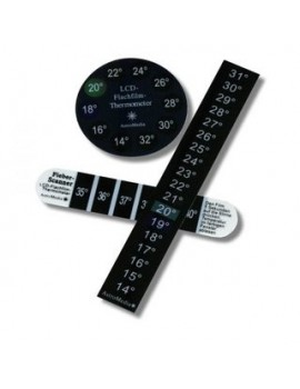 LCD film thermometer (set of 3)