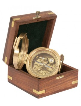Trinidad Nostalgic sighting mirror compass