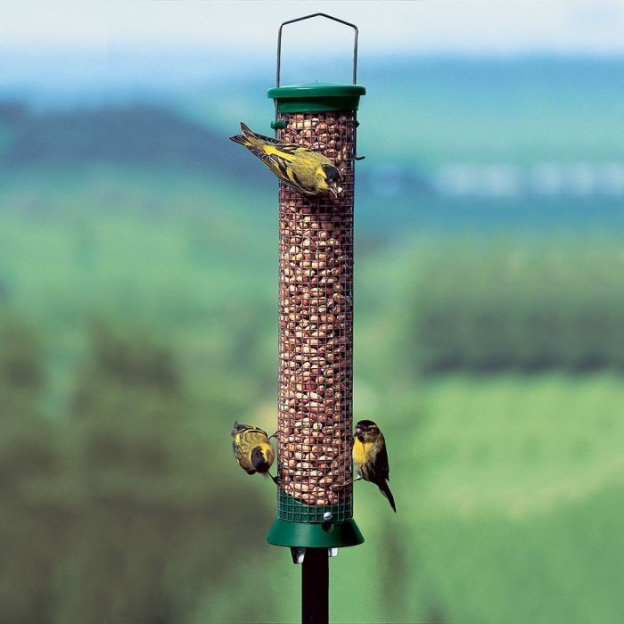 CJ Wildlife Medium Green Challenger Peanut Feeder