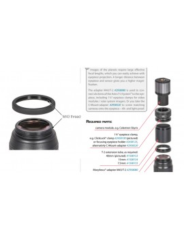 Baader Morpheus 17.5mm 76° Eyepiece Eyepieces - Filters
