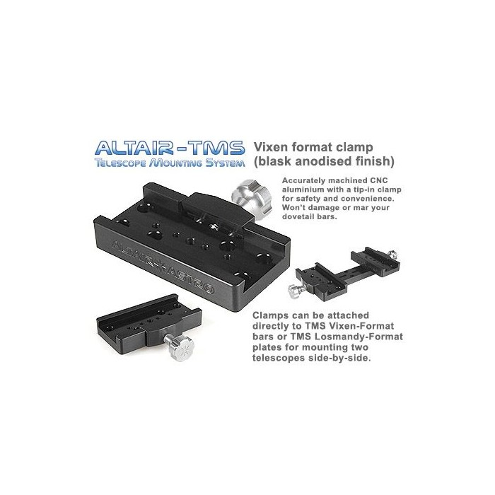Altair TMS - Vixen Synta Dovetail Clamp Black Other Accessories