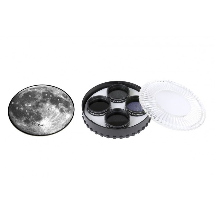 "Celestron Moon Filter Set 1.25"" Astronomy Grovers Optics"