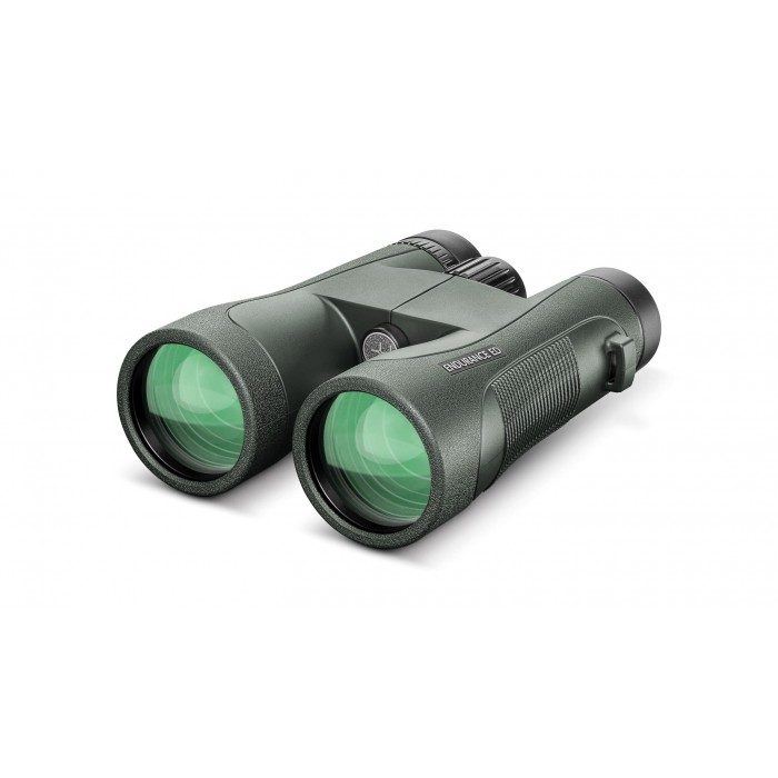 Hawke Endurance ED 12x50 Green Binoculars Grovers Optics