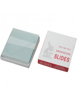Omegon Microscope Slides 50 Pieces Home Grovers Optics