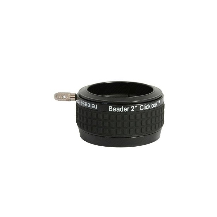 "Baader 2"" ClickLock Clamp M56 (Celestron / Skywatcher and also fits Orion 80 ED)"