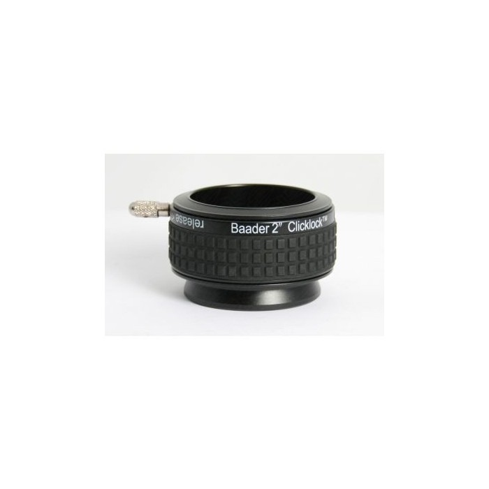 """Baader 2"""" ClickLock Clamp S57 Newtonian Ring Dovetail (Celestron / Skywatcher)"""
