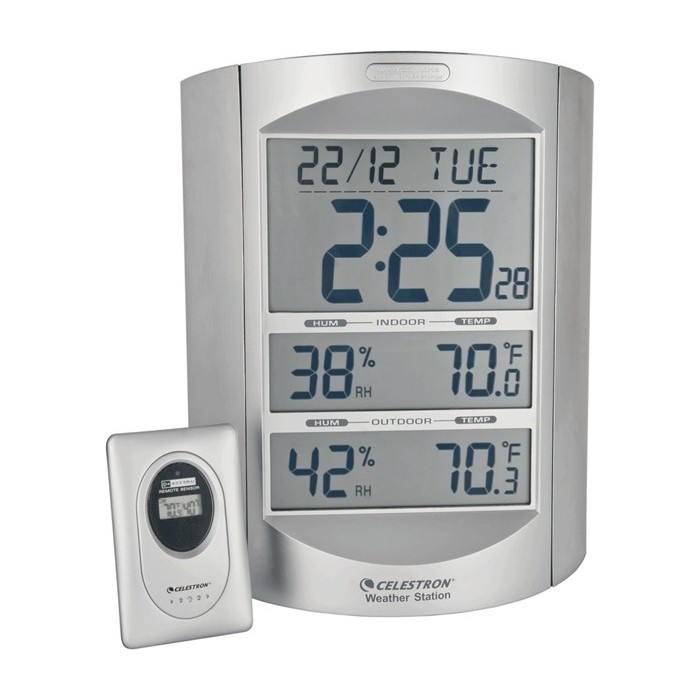 Large Format LCD Weather Station
