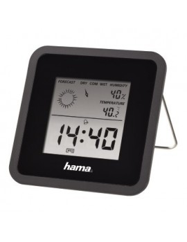 Hama TH50 Thermometer And Hygrometer Black