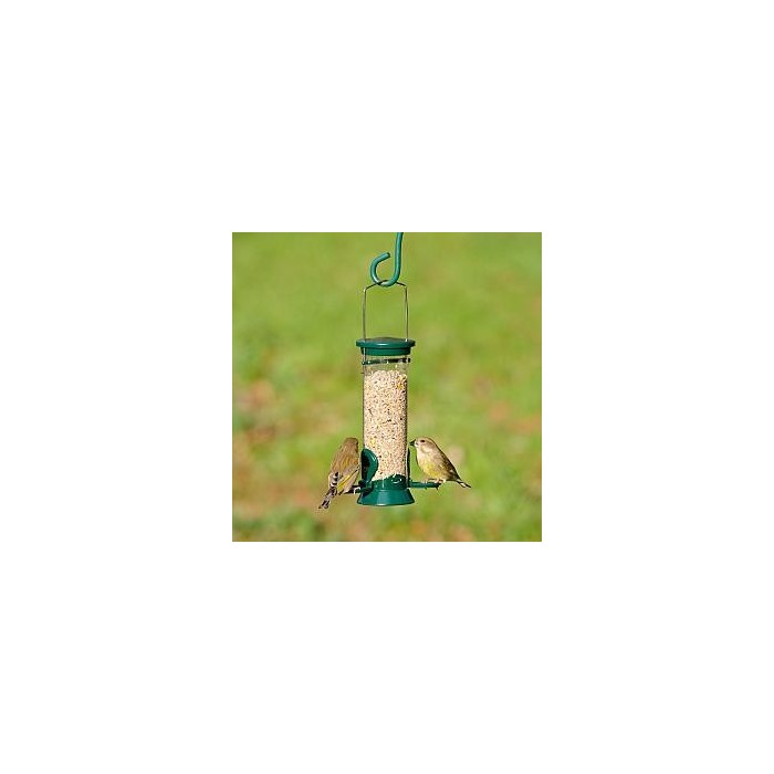 CJ Wildlife Kensington 2 Port Seed Feeder (metal)