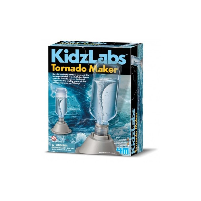 4M Kidz Labs Tornado Maker Educational