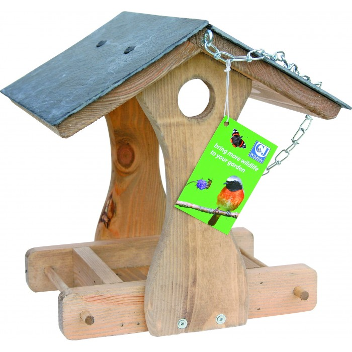 CJ Wildlife New York Slate Feeding Bird Table