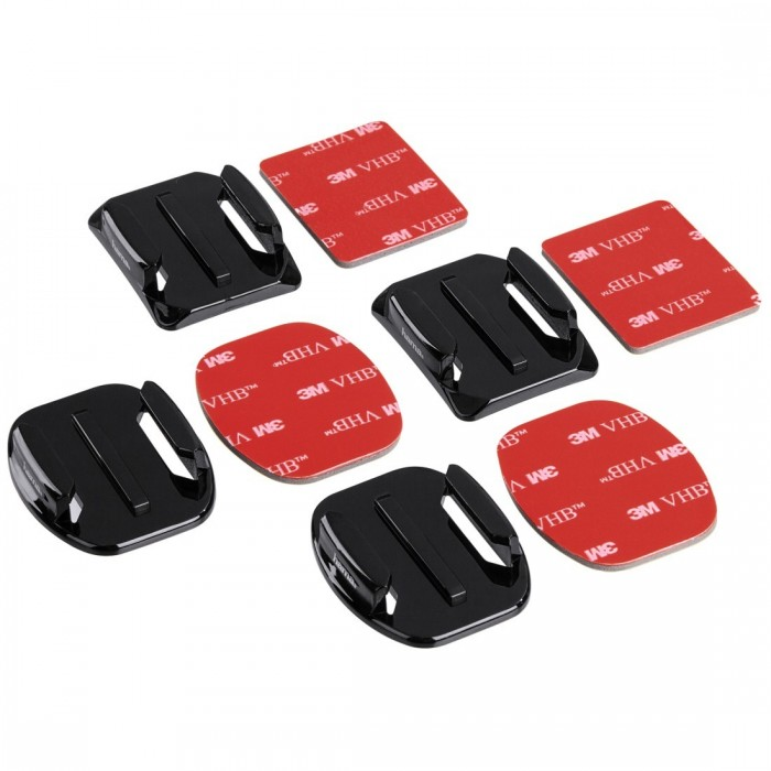 Flat & Curved Mounts For Go-Pro