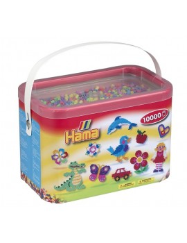 Hama 10,000 Beads Pegboards in Tub Craft