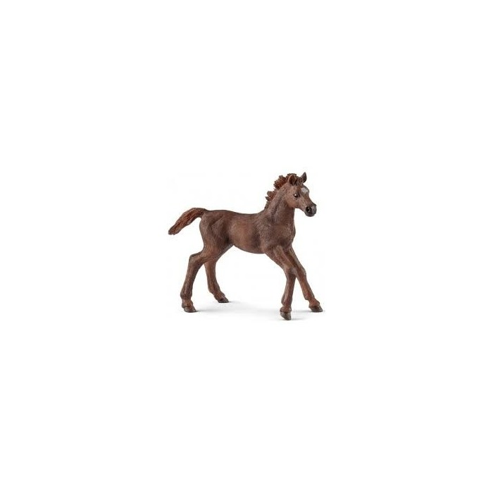 Schleich English Thoroughbred foal World of Horses