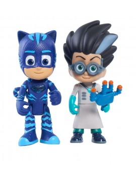 PJ Masks Light Up Figure Catboy & Romeo Characters