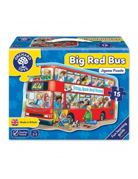 Orchard Big Red Bus Jigsaw Puzzle Games & Jigsaws
