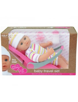 Dollsworld Baby Travel Set Dolls