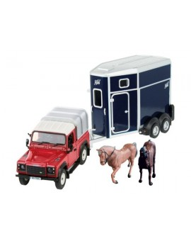 Britains Land Rover Horse Set Vehicles