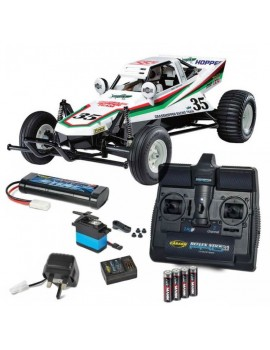 Tamiya 1/10 Grasshopper Complete With Carson RC Kit Radio