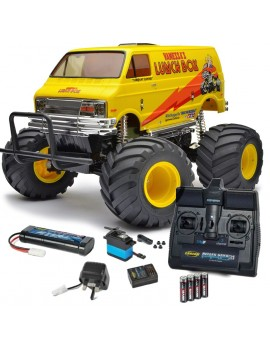 Tamiya 1/12 RC Lunch Box With Carson Kit Radio Control