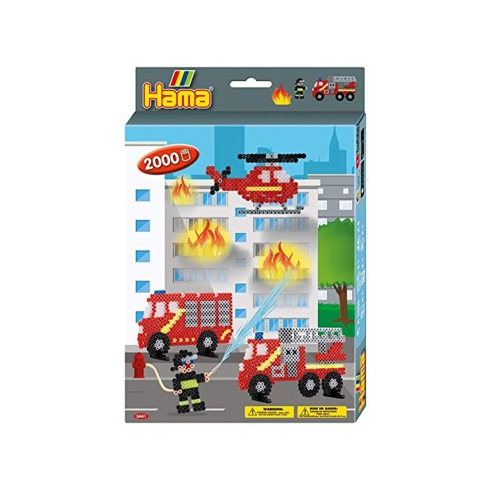 Hama Fire Fighters Small Gift Set Craft