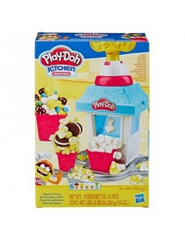 Playdoh Kitchen Creations Popcorn Party Playfood Set Craft