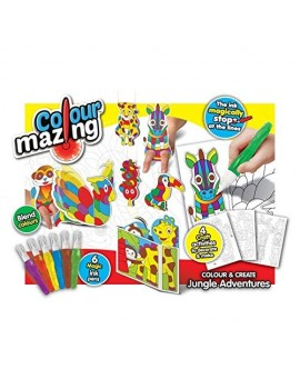 ColourMazing - 3D Jungle Adventures Craft