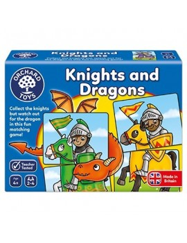 Orchard Knights and Dragons Game Games & Jigsaws