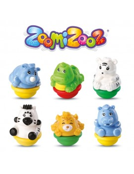 ZoomiZooz 6 Pack Jungle Pre-school