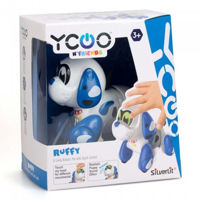 Silverlit Ruffy Puppy Robotic Pet Action Figures