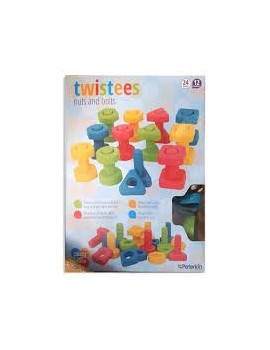 Play & Learn Twistees Nuts & Bolts Pre-school