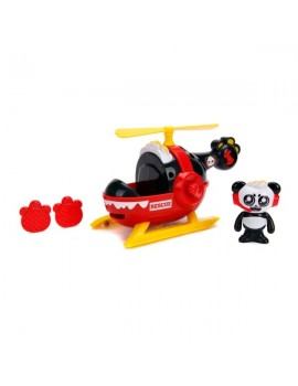 Ryan's World Panda and Helicopter Vehicles