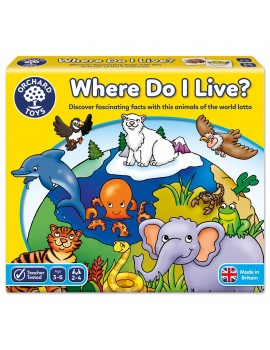 Orchard Where Do I Live? Games & Jigsaws