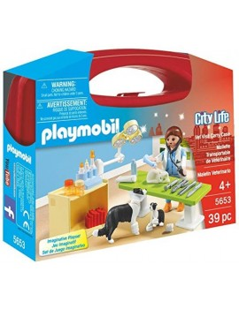 Playmobil City Life Collectable Small Vet Carry Case Playmobil
