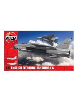 Airfix English Electric Lightning F6 1:72 Aircraft