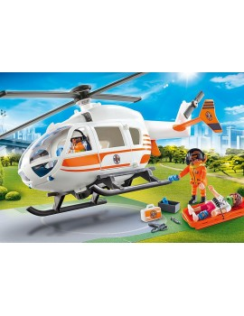 Playmobil Emergency Rescue Helicopter Roleplay
