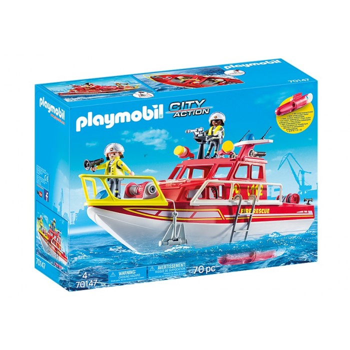 Playmobil Fire Rescue Boat Playmobil