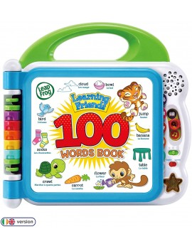 LeapFrog Learning Friends 100 Animals Words Book Pre-school
