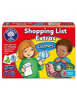 Orchard Shopping List Extras - Clothes Games & Jigsaws