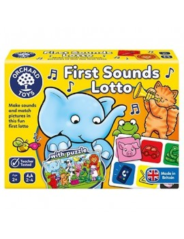 Orchard First Sounds Lotto Game Games & Jigsaws