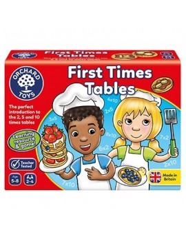 Orchard First Times Tables Game Games & Jigsaws
