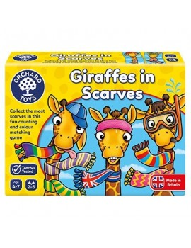 Orchard Giraffes in Scarves Game Games & Jigsaws