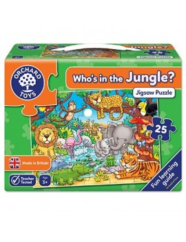 Orchard Who's in the Jungle Jigsaw Games & Jigsaws