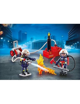 Playmobil Firefighters with Water Pump Playmobil