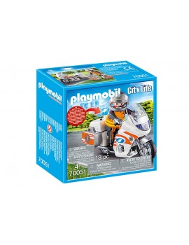 Playmobil Emergency Motorbike Playmobil