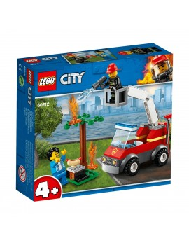 Lego City Barbecue Burn Out City